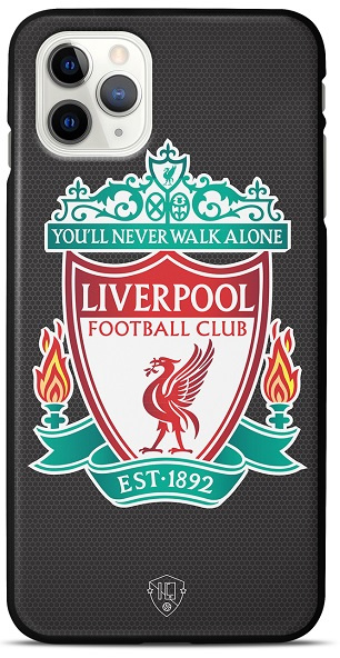 Liverpool telefoonhoesje iPhone 12 Pro Max backcover zwart