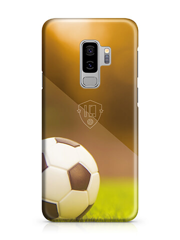 Voetbal hoesje Samsung Galaxy S9 Plus softcase