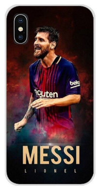 Messi hoesje iPhone X softcase