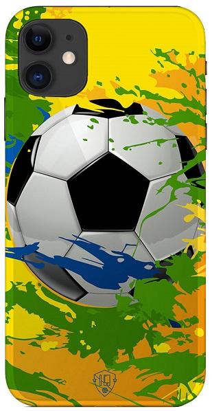 Voetbal telefoonhoesje samba iPhone 12 softcase