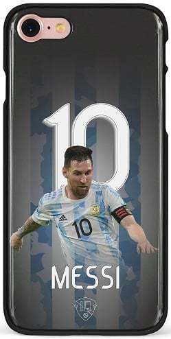 Messi 10 telefoonhoesje iPhone 7 8 SE 2020 backcover
