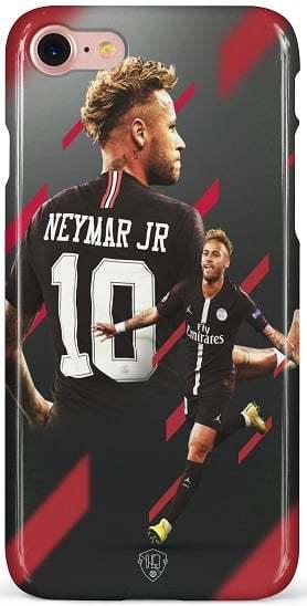 Neymar PSG 10 hoesje iPhone 7 8 SE 2020
