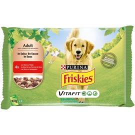 Friskies Dog Rund 4*100 G