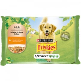 Friskies Dog Chicken 4*100 G