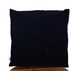Denim cushion SKULL 45x45 cm