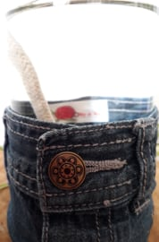 Oil lamp Denim & Flower