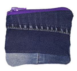 Pouch Denim & Purple