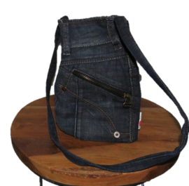 Small shoulder bag dark denim