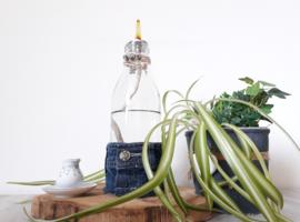 Oil lamp Denim & Flower