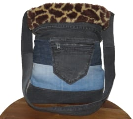 Shoulder bag Denim & Giraffe