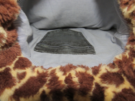 Schoudertas Denim & Giraffe
