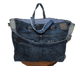 Beach bag XL upcycled from PME Legend jeans