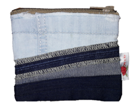 Pouch Denim & Taupe