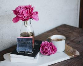 Pouch Denim & Light Pink