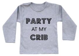 Shirt - Party at my crib
