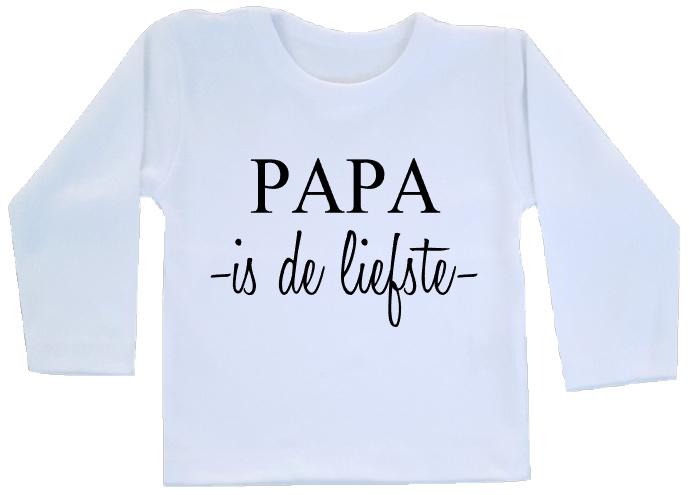 Shirt - Papa is de liefste