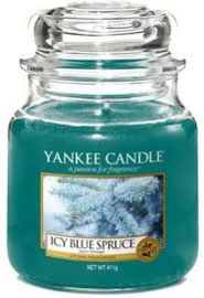 Yankee Candle Medium Jar Icy Blue Spruce