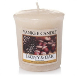 Yankee Candle Votive Ebony & Oak