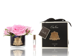 Côte Noire Diffuser Real Touch 3 Flowers Pink Blush Dark Glass