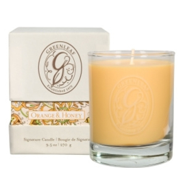 Greenleaf Signature Boxed Candle Orange & Honey