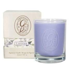 Greenleaf Signature Boxed Candle Lavender
