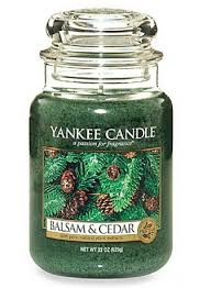 Yankee Candle Large Jar Balsam & Cedar
