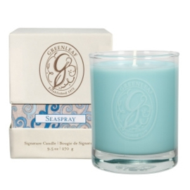 Greenleaf Signature Boxed Candle Seaspray