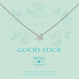 Heart to Get - Good Luck - Ketting - Zilver