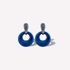 KMO Oorbellen Iris KPEA887390 blue