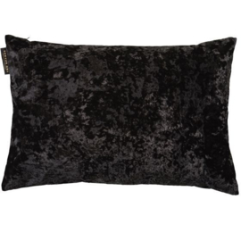 Ted Sparks - Pillow Crushed Velvet Charcoal 40x60