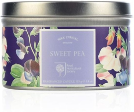 Wax Lyrical Tin Sweet Pea