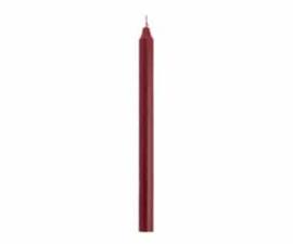 Rustik Lys Dinerkaars 2,1 x 30 cm Antiek Rood (24 stuks)