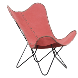 Pole to Pole - Butterfly Chair Retro Red