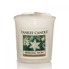 Yankee Candle Votive Sparkling Snow