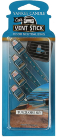 Yankee Candle Car Vent Sticks Turquoise Sky