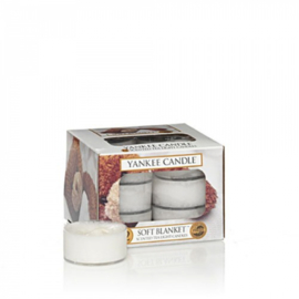 Yankee Candle Waxinelichtjes Soft Blanket