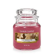 Yankee Candle Medium Jar Glittering Star