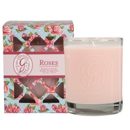 Greenleaf Signature Boxed Candle Roses