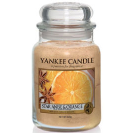 Yankee Candle Large Jar Star Anise & Orange