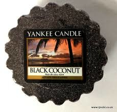 Yankee Candle Tart Black Coconut