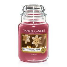 Yankee Candle Large Jar Glittering Star
