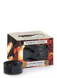 Yankee Candle Waxinelichtjes Autumn Night