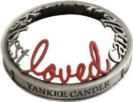 "Yankee Candle Illuma Lid ""Loved"""