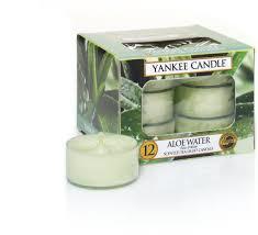 Yankee Candle Waxinelichtjes Aloe Water