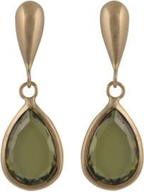 Cataleya Earrings Pear Green