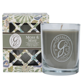 Greenleaf Signature Boxed Candle Moss & Mist