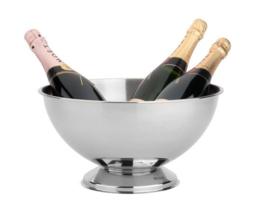 Klassieke RVS Champagneschaal
