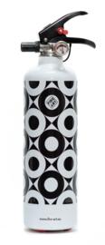 Fire Art - Design Brandblusser Black & White
