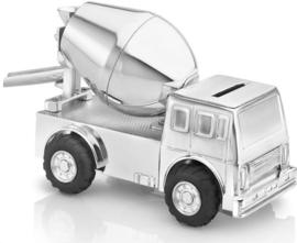 Zilverstad Verzilverde Spaarpot - Cementwagen