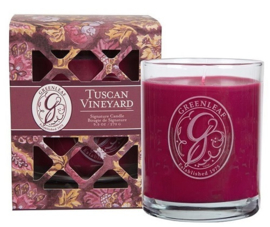 Greenleaf Signature Boxed Candle Tuscan Vineyard